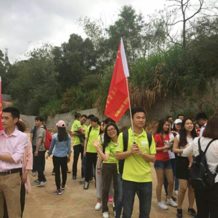"""深圳博纳移动党支部等各支部成员参加了""""绿化地球从我做起""""植树活动。"""