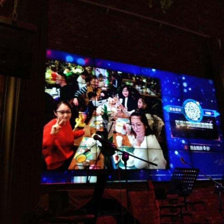 企動超級現場--酒吧霸屏上墻功能